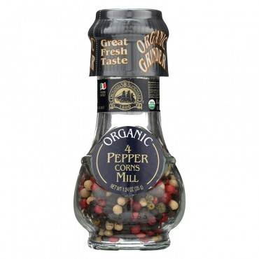 Drogheria And Alimentari Spice Mill - Organic 4 Seasons Peppercorns - 1.24 Oz - Case Of 6