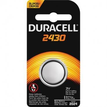Duracell Coin Cell Lithium 3V Battery - DL2430 (EA/EACH)