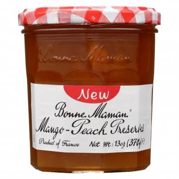 Bonne Maman Preserves - Mango Peach - Case of 6 - 13 oz