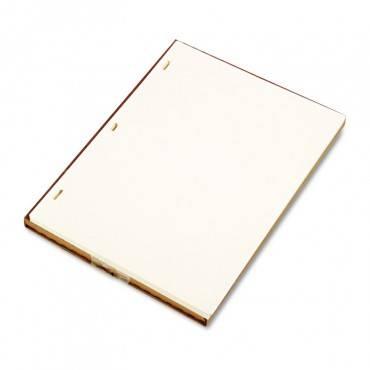 Looseleaf Minute Book Ledger Sheets, Ivory Linen, 11 X 8-1/2, 100 Sheet/box