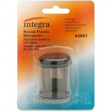 Integra Handheld 1-hole Pencil Sharpener Canister (EA/EACH)