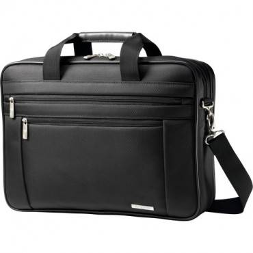 "Samsonite Classic Carrying Case (Briefcase) for 17"" Notebook - Black (EA/EACH)"