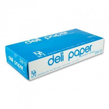 """Durable Packaging INTERFOLDED DELI SHEETS, 12"""" X 10 3/4"""", 500 SHEETS/BOX, 12 BOXES/CARTON SW12XX 6000 Case"""