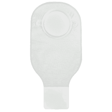 """Securi-t usa 12"""" drainable pouch transparent 1 curved tail closure part no. 7312234 (10/box)"""