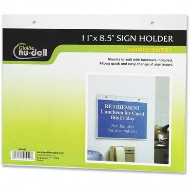 Nu-Dell Acrylic Sign Holders (EA/EACH)