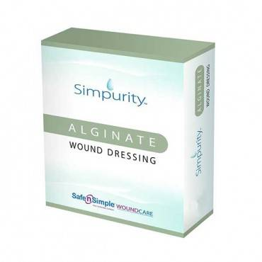 "Simpurity Alginate 4"" X 8"" Pad Part No. Sns50732 (5/box)"
