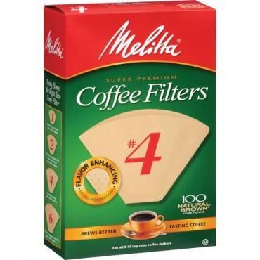 Melitta Super Premium No. 4 Coffee Filters (PK/PACKAGE)