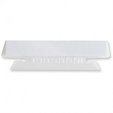 Business Source Plastic Clear Tabs (PK/PACKAGE)