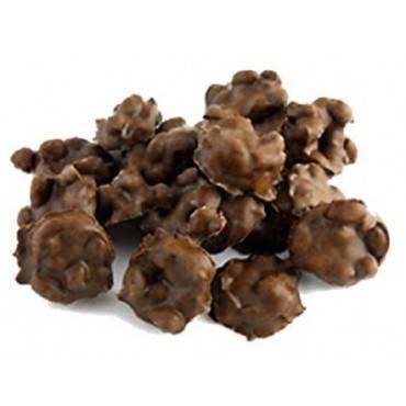 Sunridge Farms Carob Peanut Clusters - Case Of 10 - 1 Lb.