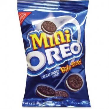 Oreo Nabisco Mini Bite Size Cookie Packet (CA/CASE)