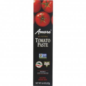 Amore - Tomato Paste - Tube - 4.5 Oz - Case Of 12
