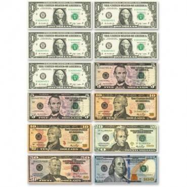 Ashley US Dollar Bill Set Die-cut Magnets (ST/SET)