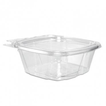 Clearpac Container, 4.9 X 2 X 5.5, 12 Oz, Clear, 200/carton