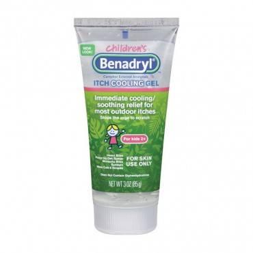 Benadryl original strength kidz anti-itch gel, 3 oz part no. 17103 (1/ea)