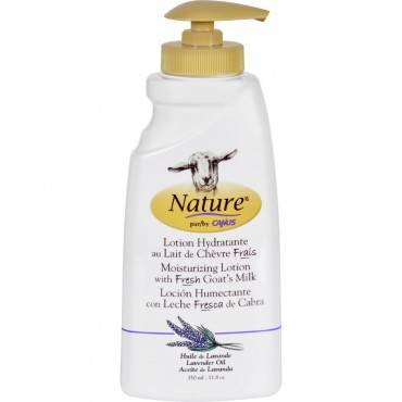 Nature By Canus Lotion - Goats Milk - Nature - Lavender Oil - 11.8 oz