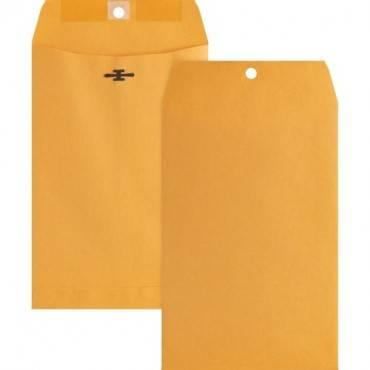 Business Source Heavy-duty Metal Clasp Envelopes (BX/BOX)