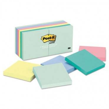 Original Pads In Marseille Colors, 3 X 3, 100-sheet, 12/pack