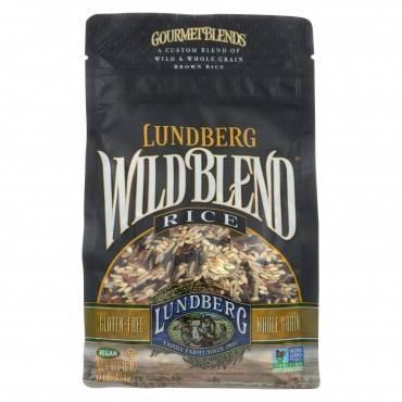Lundberg Family Farms Wild Blend Rice - Case Of 6 - 1 Lb.