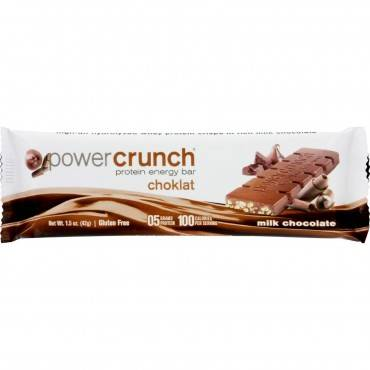 Power Crunch Bar - Chocolate Milk - Case Of 12 - 1.4 Oz