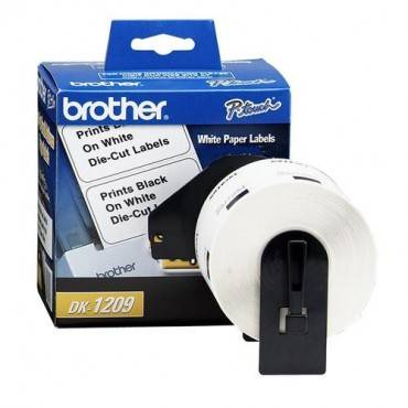 Brother DK1209 Small Address QL Printer Labels (RL/ROLL)
