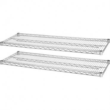 Lorell Indust Wire Shelving Starter Extra Shelves (CA/CASE)