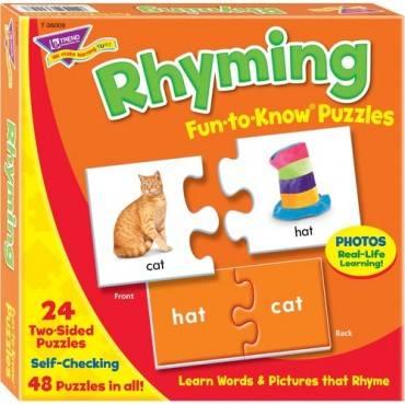 Trend Rhyming Puzzle Set (EA/EACH)