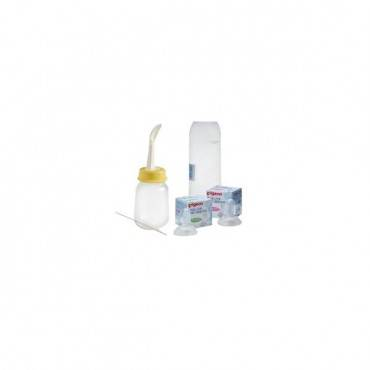 Cleft palate bottle with two nipples part no. 1104725 (1/ea)