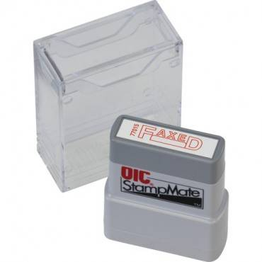 OIC Self-inking Fax/Date Stamp (EA/EACH)