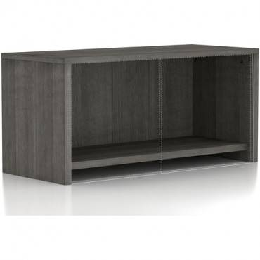 Lorell Weathered Charcoal Wall Mount Hutch (EA/EACH)