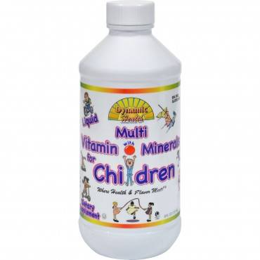 Dynamic Health Liquid Multi Vitamin with Minerals for Children - 8 fl oz