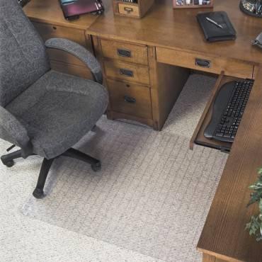 Deflecto Checker Bottom SuperMat for Carpets (EA/EACH)