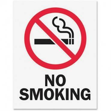 Tarifold Magneto Safety Sign Inserts-No Smoking (PK/PACKAGE)