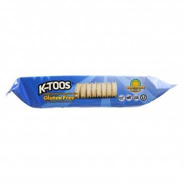 Kinnikinnick Vanilla Creme Sandwich Cookies - Case Of 6 - 8 Oz.