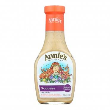 Annie's Naturals Dressing Goddess - Case Of 6 - 8 Fl Oz.