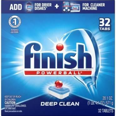 Finish Powerball Dishwasher Tabs (BX/BOX)