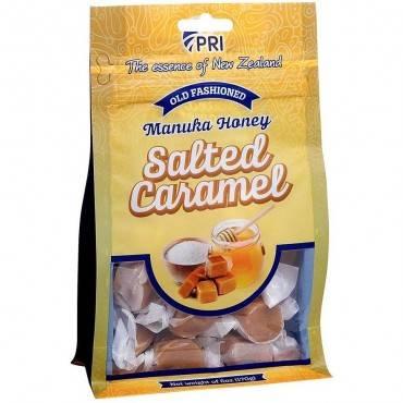 Manuka Honey & Sea Salt Caramels
