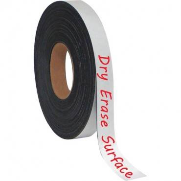 """MasterVision 1""""x4' Adhesive Magnetic Tape (EA/EACH)"""