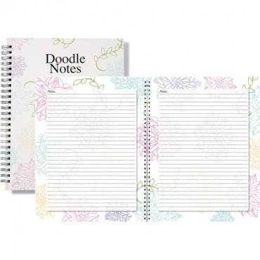 House of Doolittle Whimsical Floral Doodle Notebook (EA/EACH)