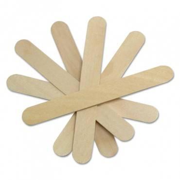 "Medline Non-Sterile Tongue Depressors, Wood, 6"", 500/Box"