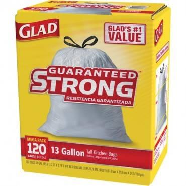 Glad Tall Kitchen Drawstring Trash Bags (BX/BOX)
