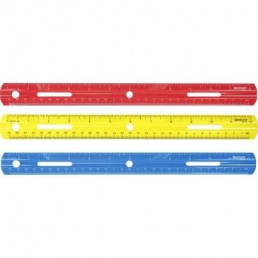 "Westcott 12"" Plastic Ruler (EA/EACH)"