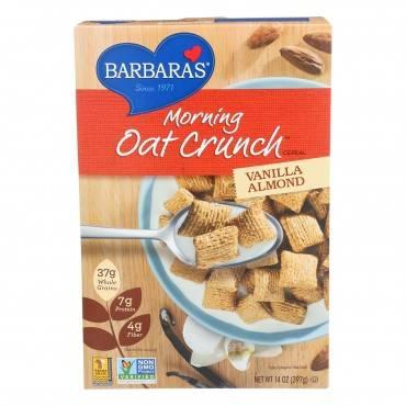 Barbara's Bakery - Morning Oat Crunch Cereal - Vanilla Almond - Case Of 6 - 14 Oz.