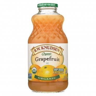 R.W. Knudsen Organic Juice -Grapefruit - Case of 6 - 32 fl oz