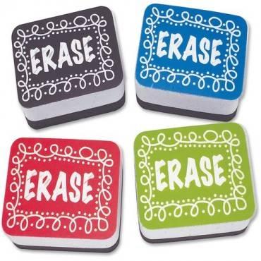 Ashley Chalk Design Mini Whiteboard Eraser (PK/PACKAGE)
