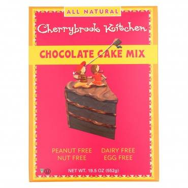 Cherrybrook Kitchen - Cake Mix - Chocolate - Case Of 6 - 19.5 Oz.