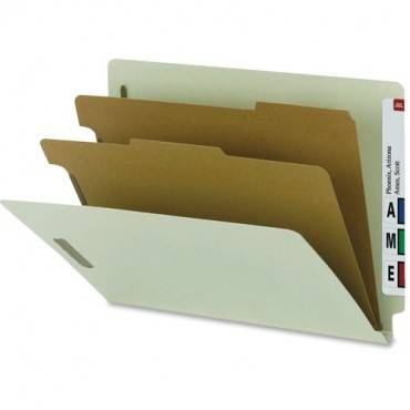 Smead 100% Recycled End Tab Classification Folders (BX/BOX)