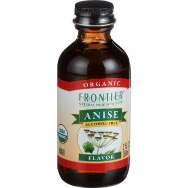 Frontier Herb Anise Flavor - Organic - 2 Oz