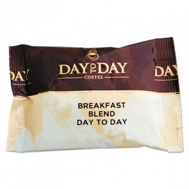 100% Pure Coffee, Breakfast Blend, 1.5 Oz Pack, 42 Packs/carton