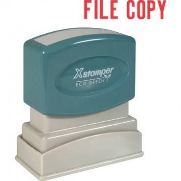 Xstamper FILE COPY Title Stamp (EA/EACH)