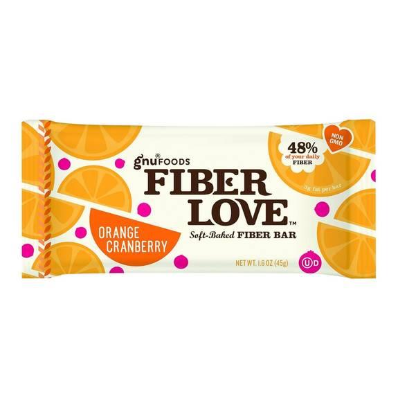 nugo nutrition bar fiber dlish orange cranberry 1 6 oz bars case of 16. Black Bedroom Furniture Sets. Home Design Ideas